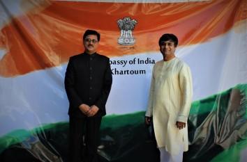 With Ambassador Sanjay Kumar Verma